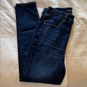American eagle high rise crop jegging